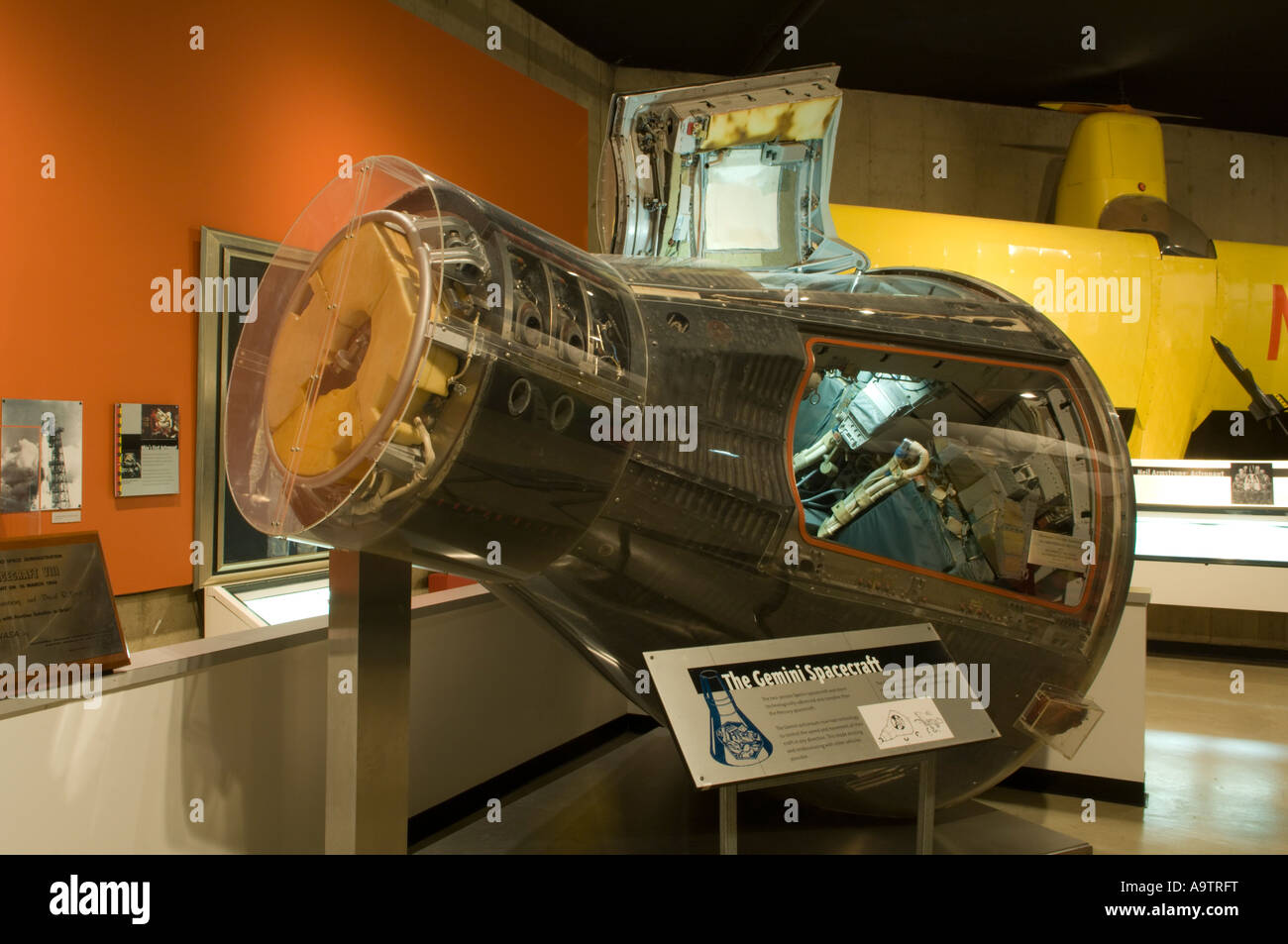 677f9948ed Gemini 8 space capsule on display at the Neil Armstrong Air and Space  Museum in Wapakoneta