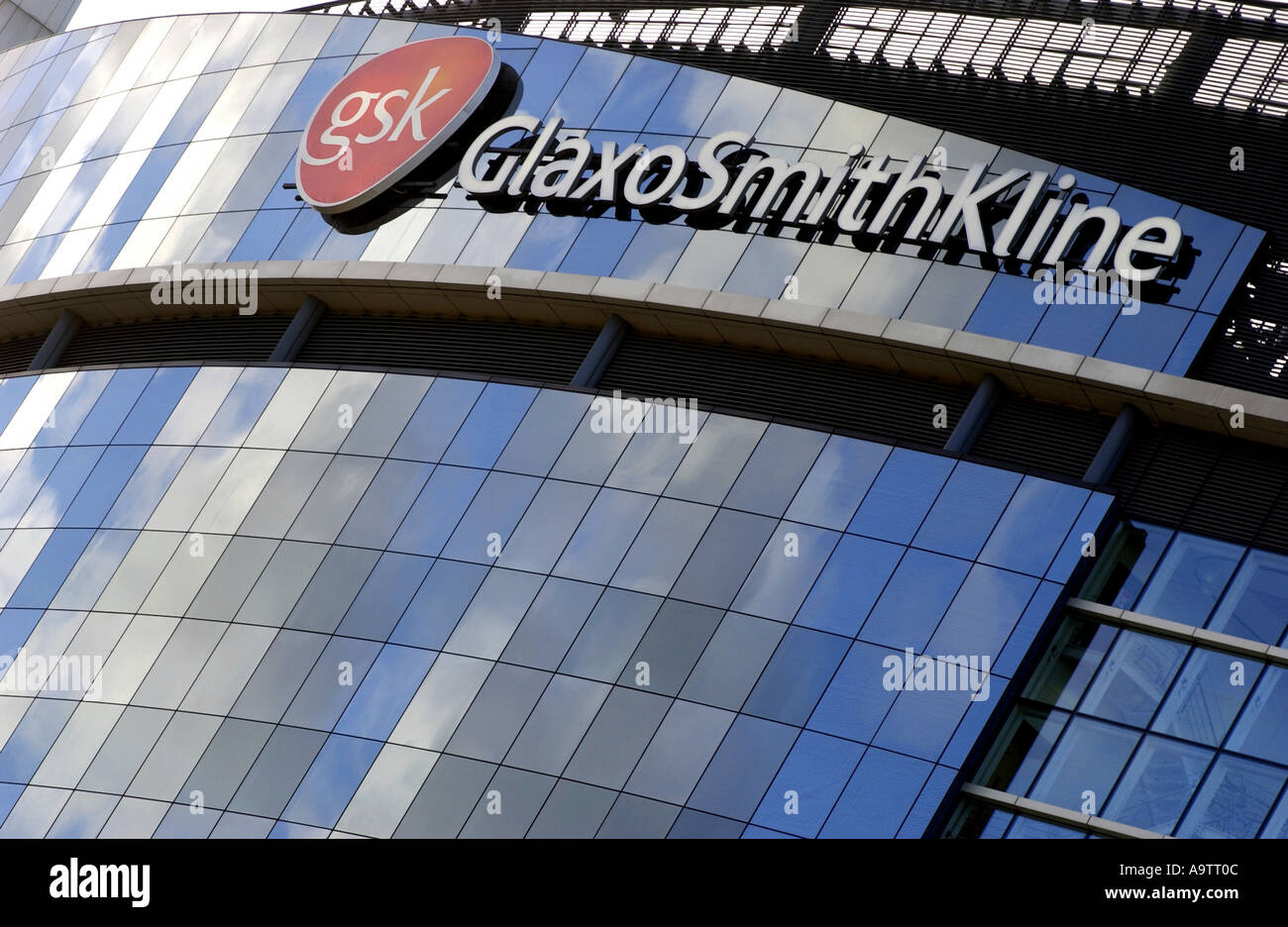 GlaxoSmithKline HQ in UK - Stock Image