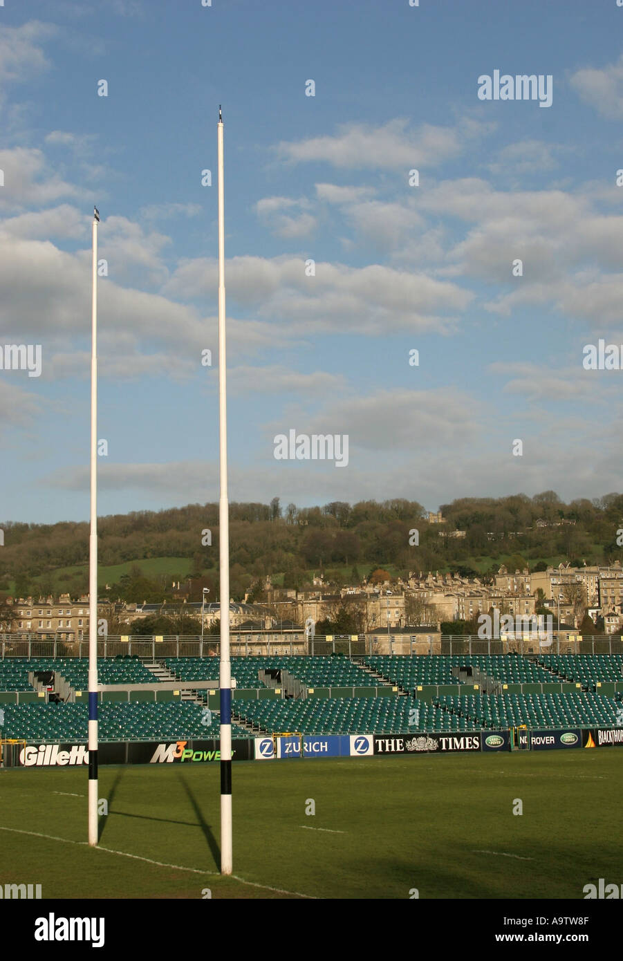 Bath Rugby Football Club at Bath England UK 2005 Stock Photo ...