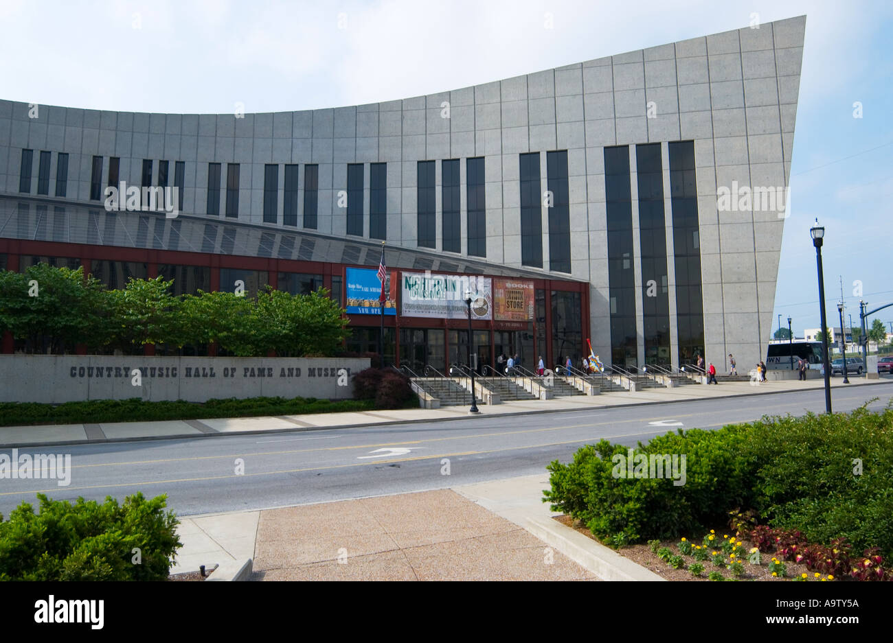 Stock Photo Country Music Hall Of Fame Nashville Tennessee USA - Stock Image