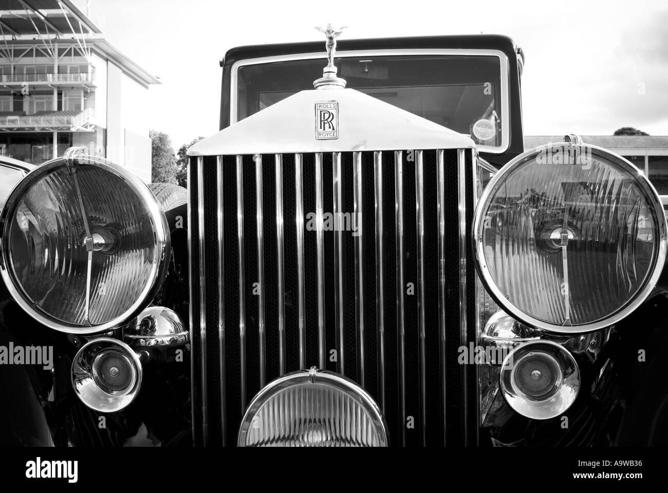 Rolls Royce Radiator Stock Photos & Rolls Royce Radiator