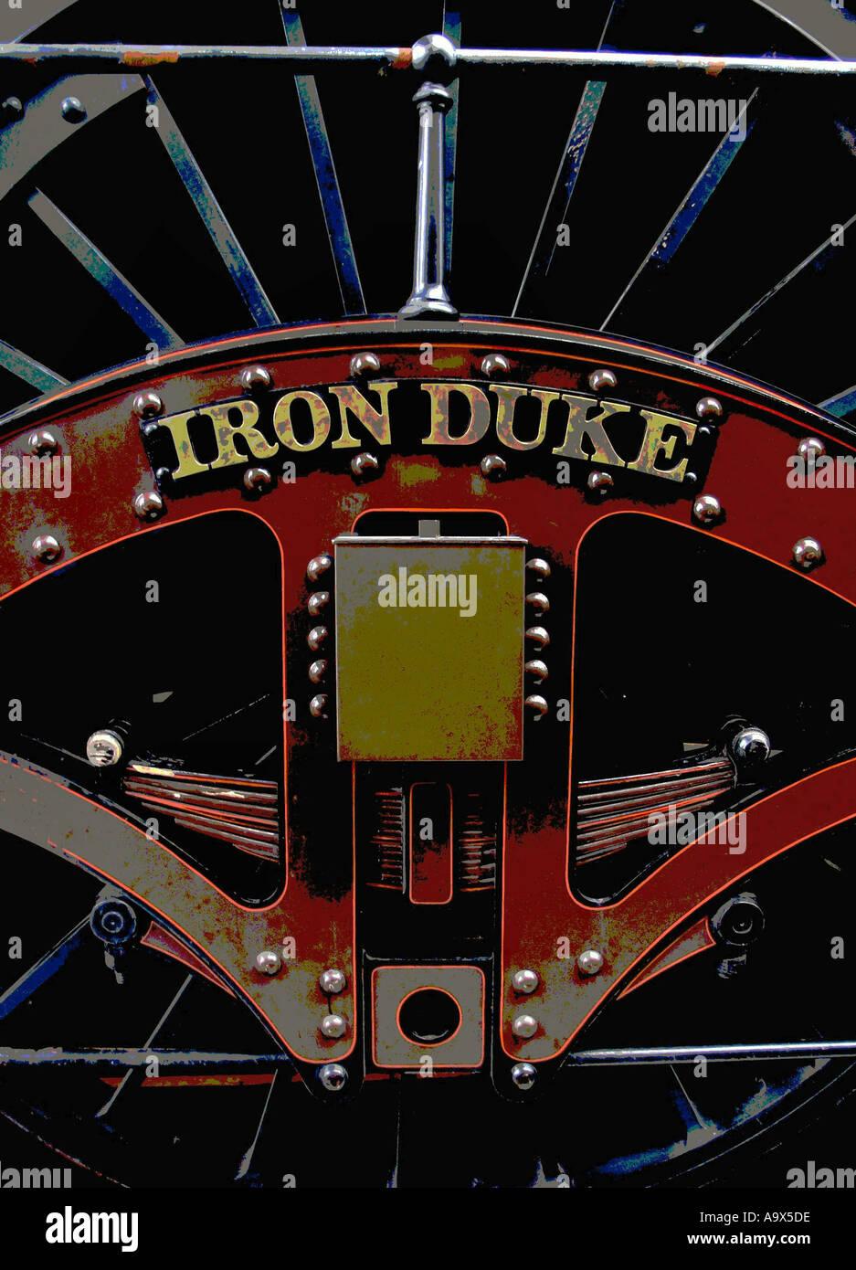 Iron Duke Stream Train - Stock Image