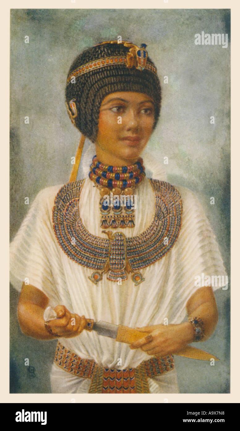 Tutankhamun  Pharaoh - Stock Image