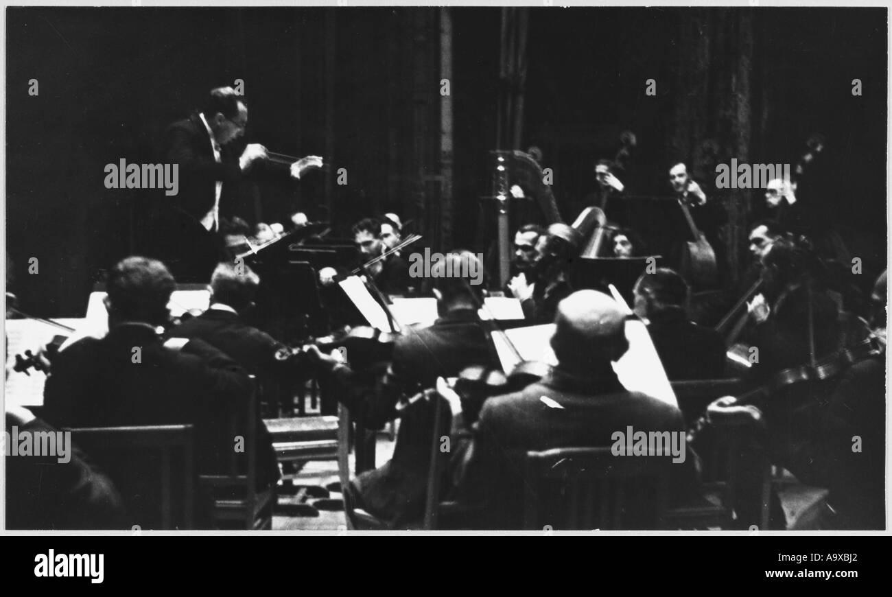 Leningrad Concert - Stock Image