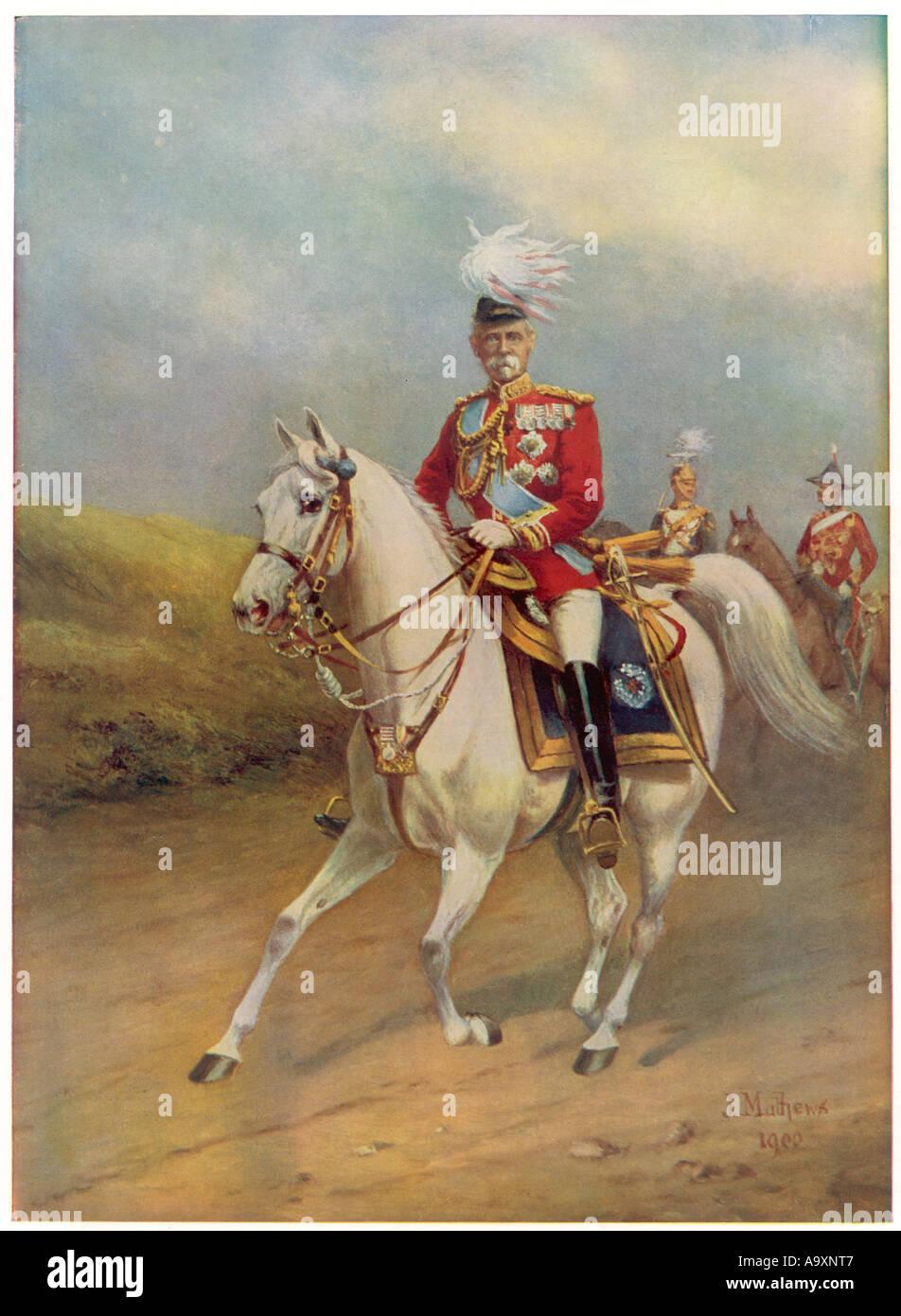 Lord Roberts 1900 - Stock Image