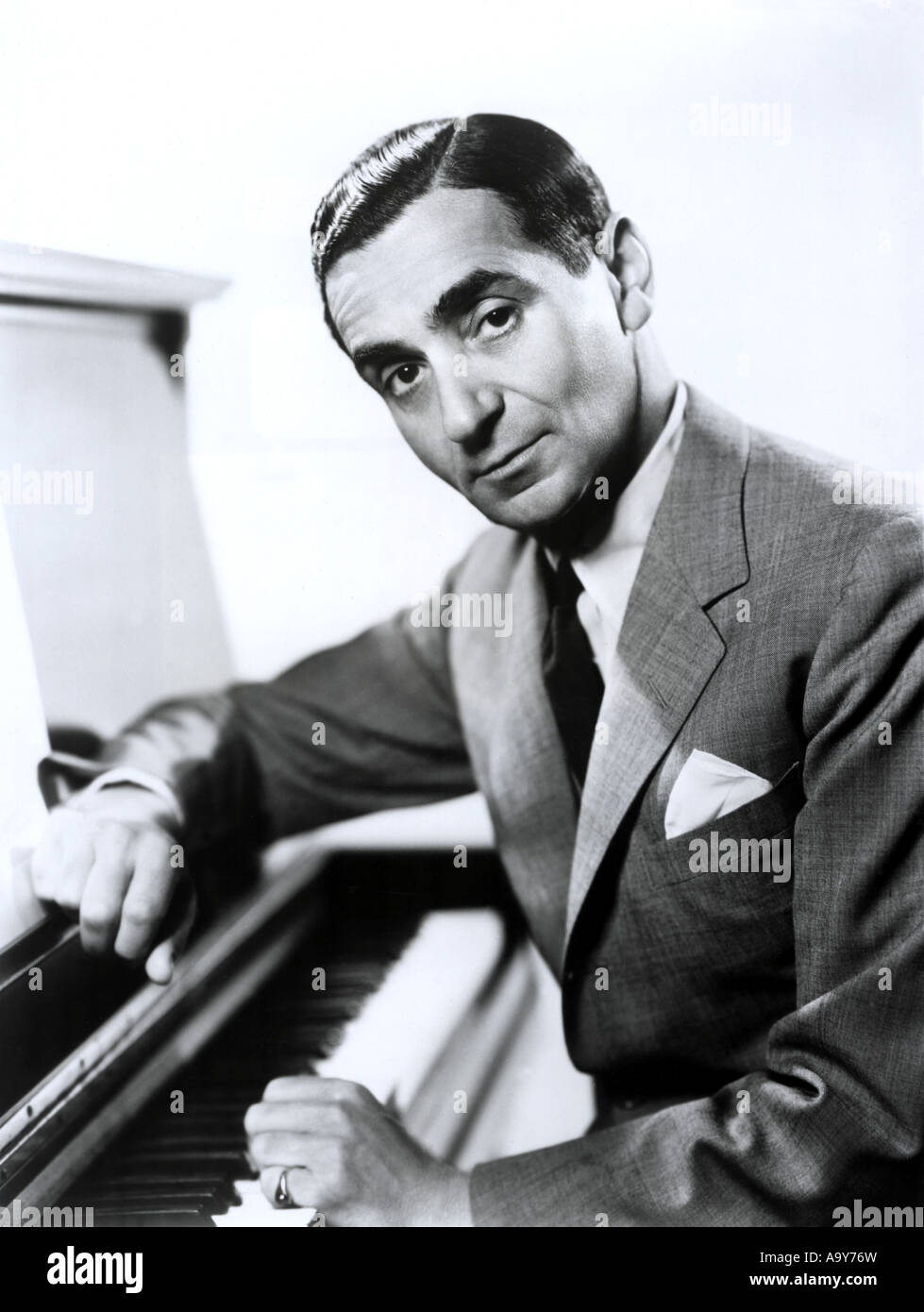 IRVING BERLIN - US composer - Stock Image