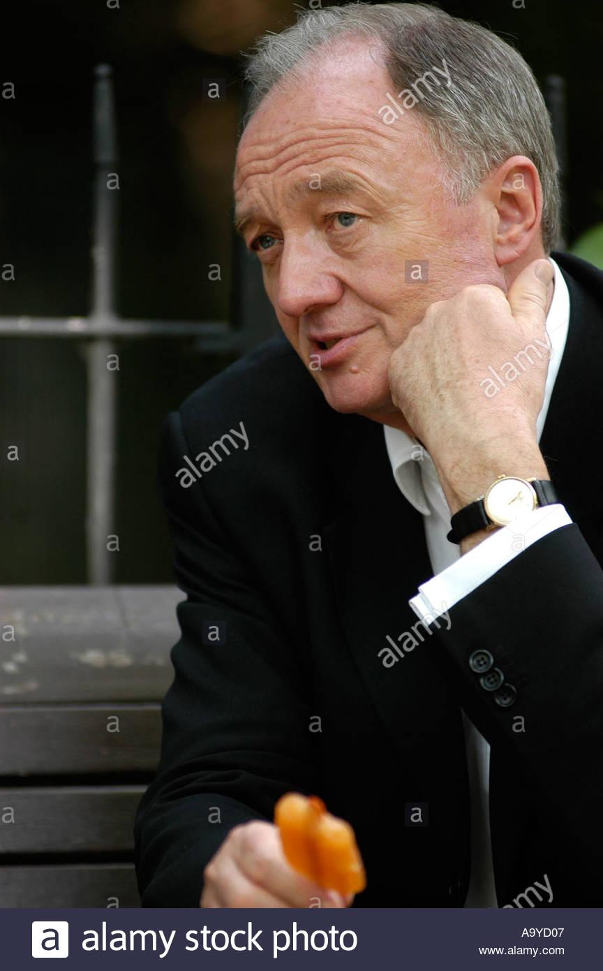 Ken Livingstone London Mayor London May 2004 UK - Stock Image
