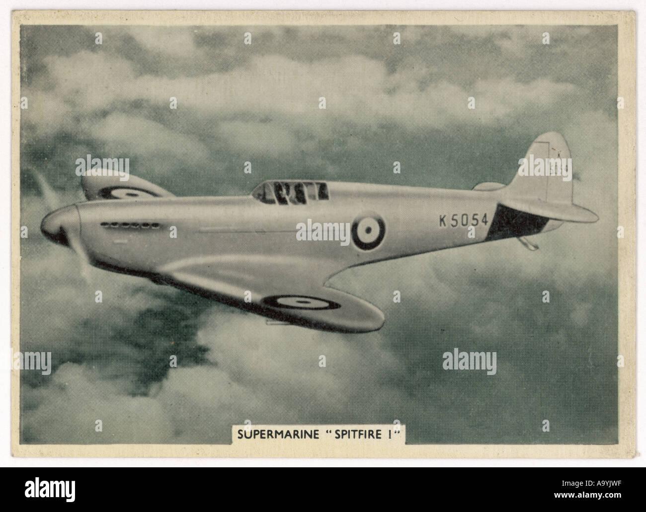 Spitfire At Start War - Stock Image