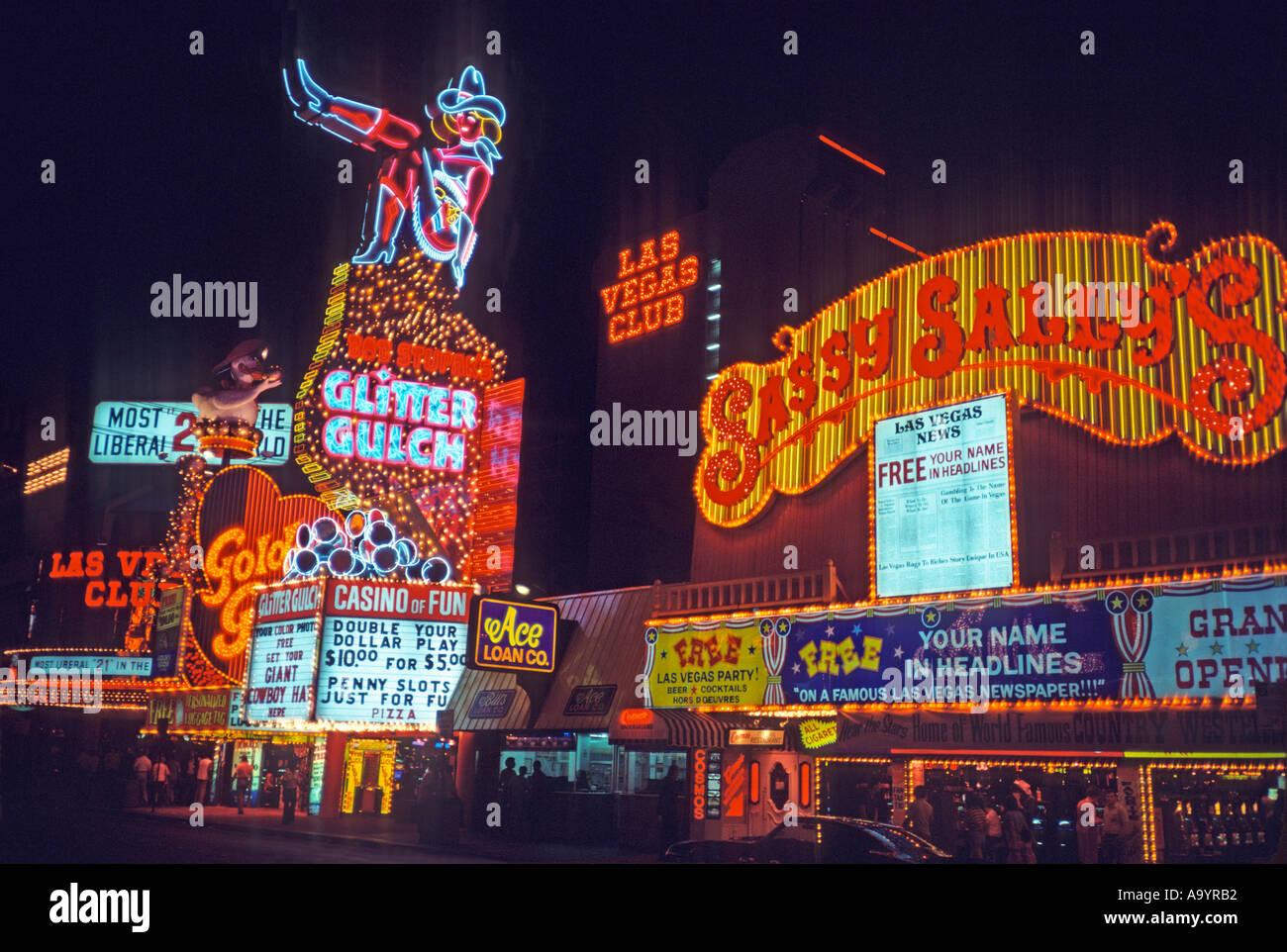 Classic neon sign, \