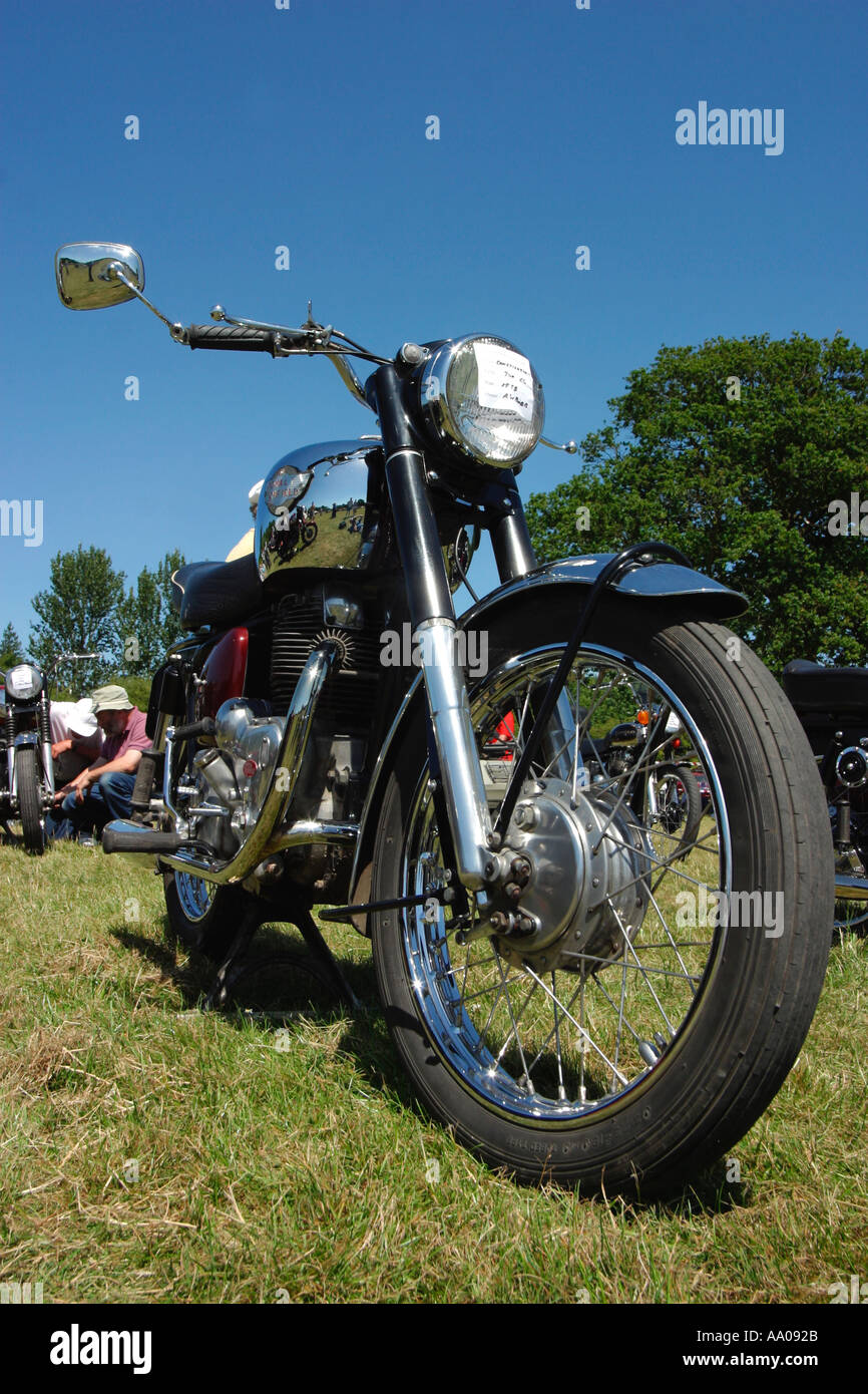 Royal Enfield 700cc Constellation 1958 - Stock Image