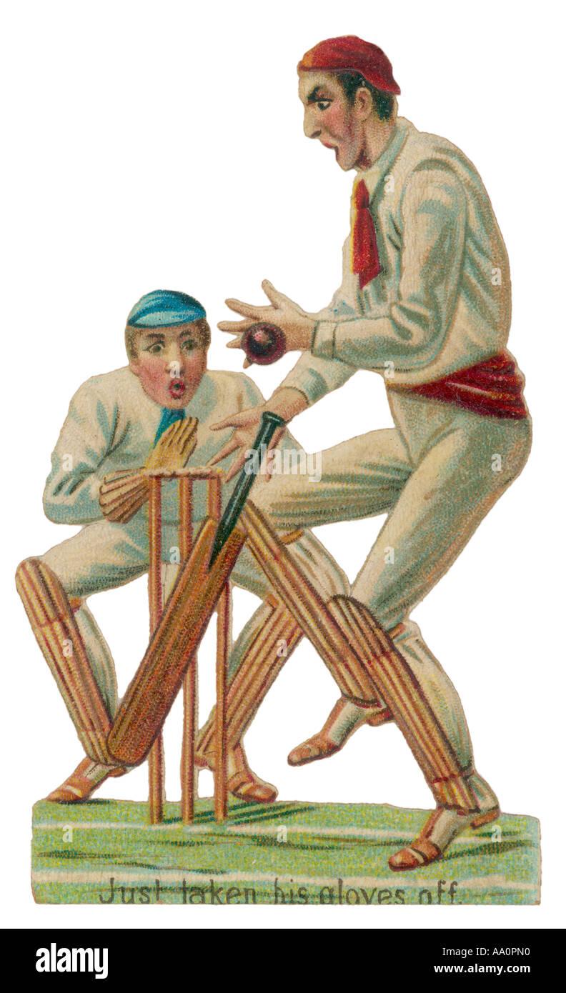 Batsmen Scrap - Stock Image