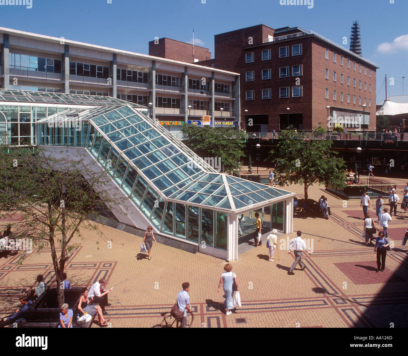 Places To Visit Coventry Uk: Precinct Coventry Uk Stock Photos & Precinct Coventry Uk