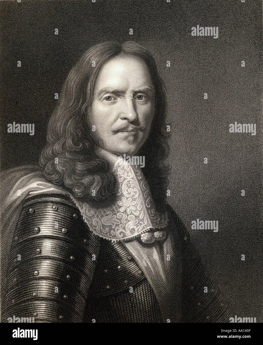 Henri de La Tour d'Auvergne, vicomte de Turenne, akaTurenne, 1611 - 1675. French military leader and Marshal General of France. - Stock Image