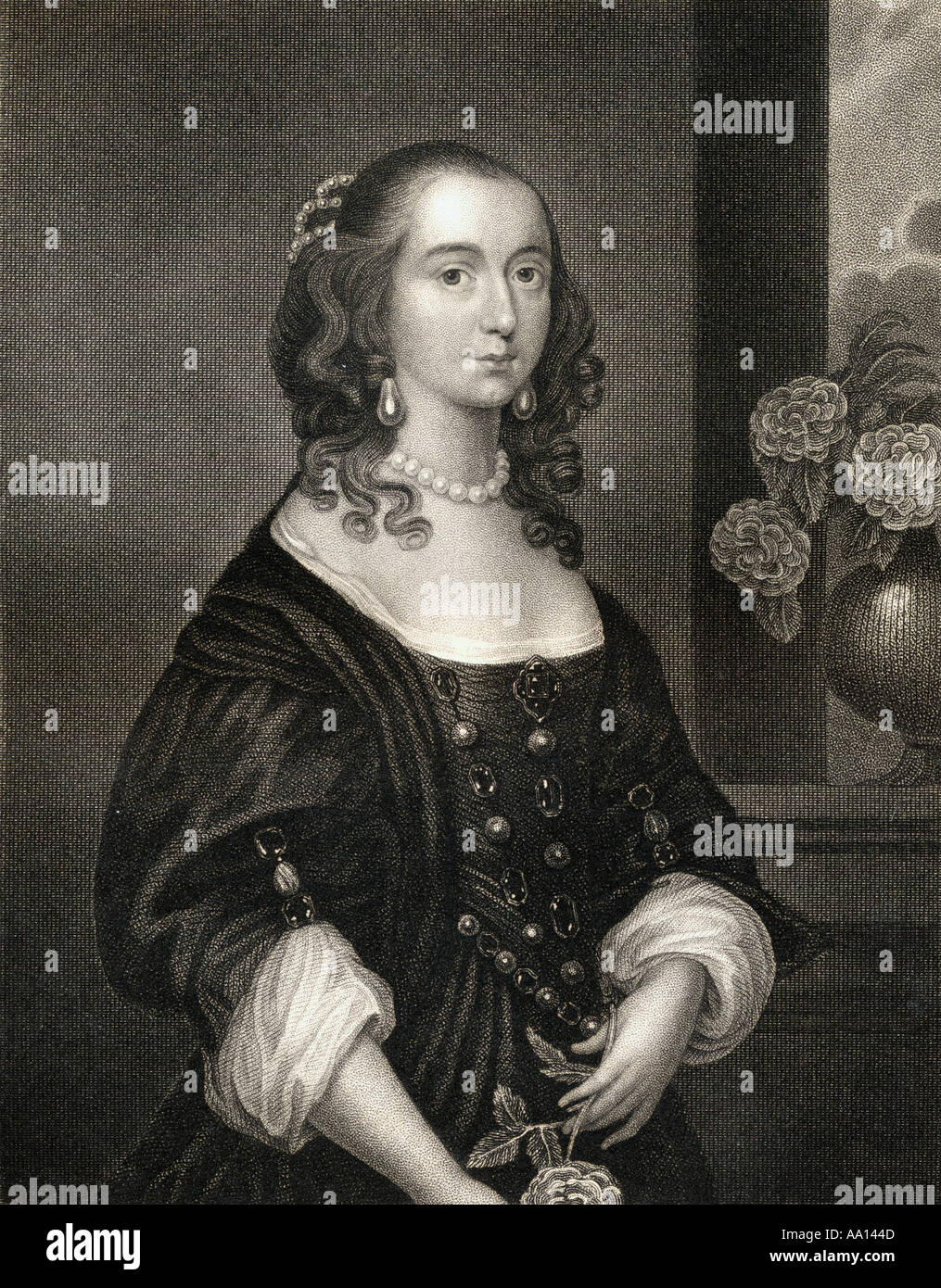Anne Clifford,  Countess Dowager of Pembroke, Dorset and Montgomery, 1590 -1676.  English peeress and landowner. - Stock Image