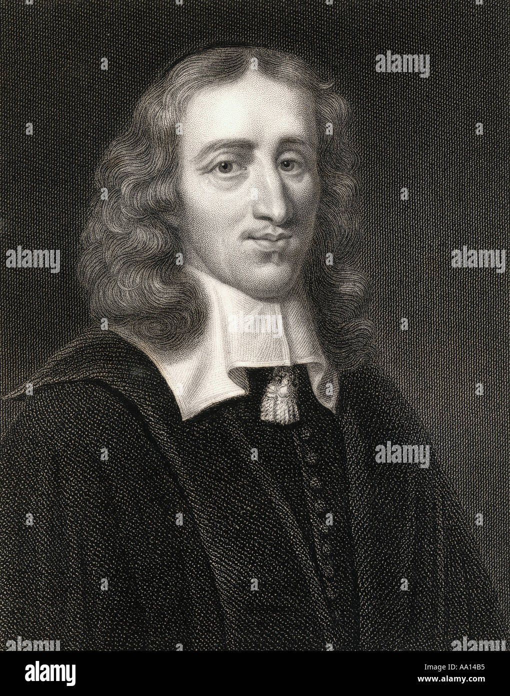 Johan de Witt aka Jan de Witt, 1625 - 1672. Dutch statesman and political leader of Holland - Stock Image