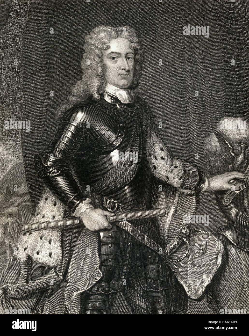 General John Churchill, 1st Duke of Marlborough, 1650-1722. English soldier and statesman. - Stock Image