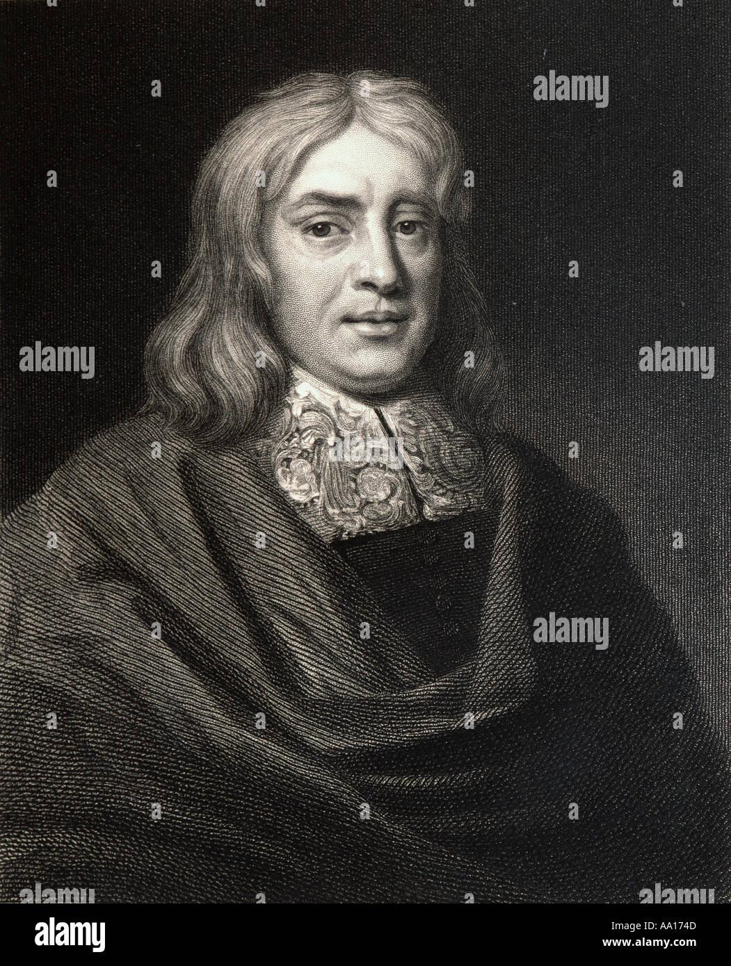 Thomas Sydenham, 1624 – 1689.  English physician. - Stock Image