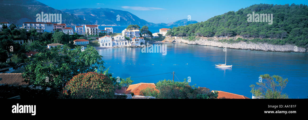 Cephalonia in the Ionian Islands Greece - Stock Image