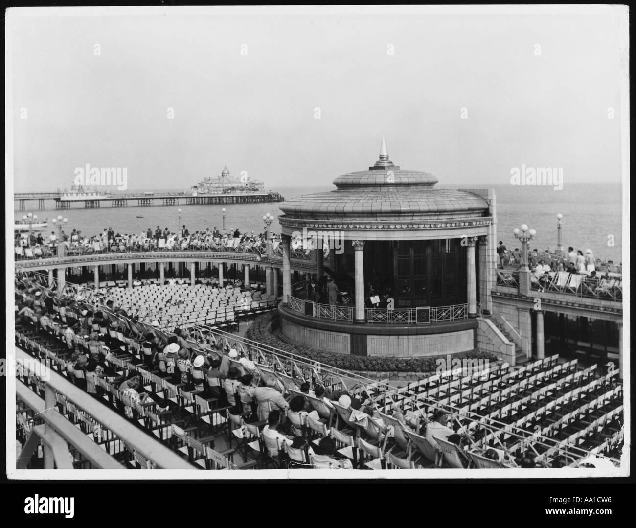 Bandstand At Eastbourne - Stock Image