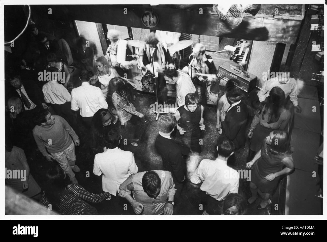 Swinging Nightclub 1960s - Stock Image