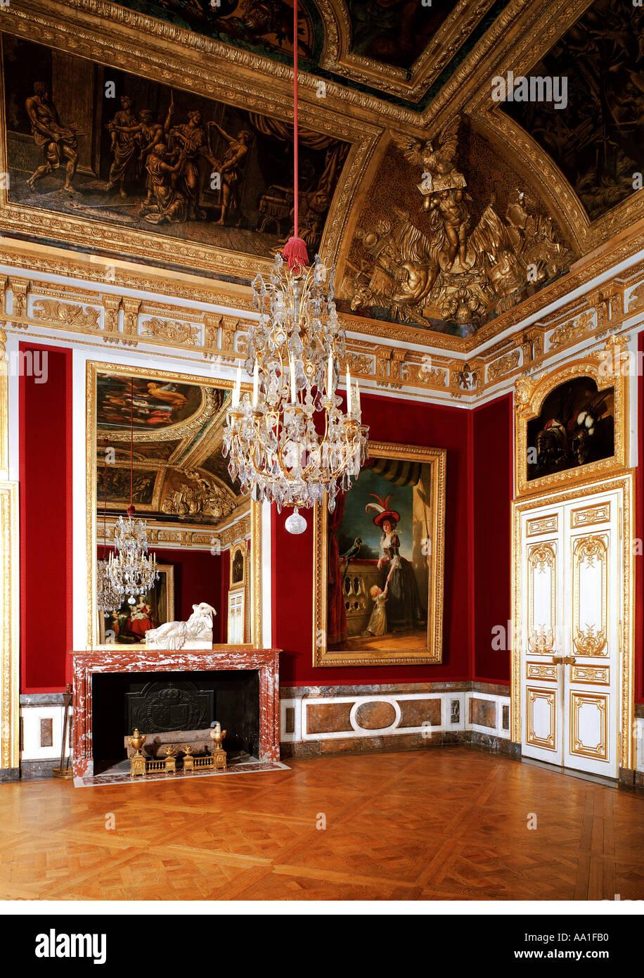 Palace Versailles Salle Manger Du Stock Photos Palace Versailles