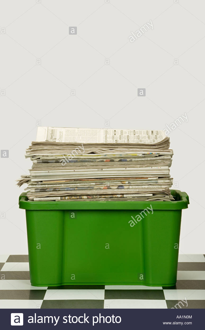 Paper for recycling - Stock Image