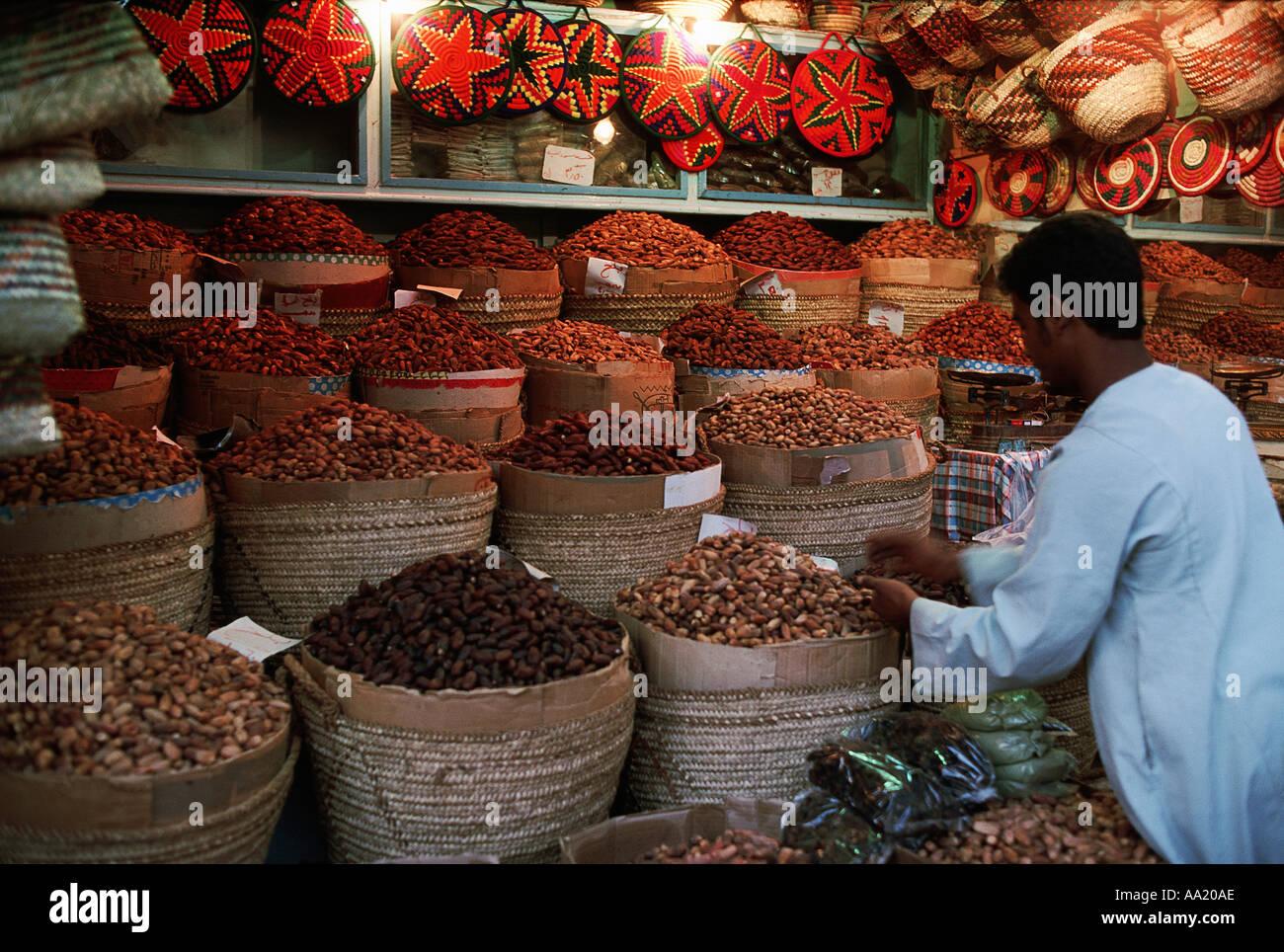 Egypt Assouan Souk - Stock Image