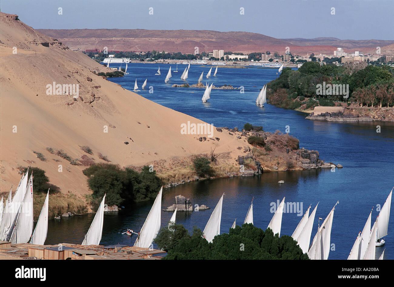 Egypt Assouan - Stock Image