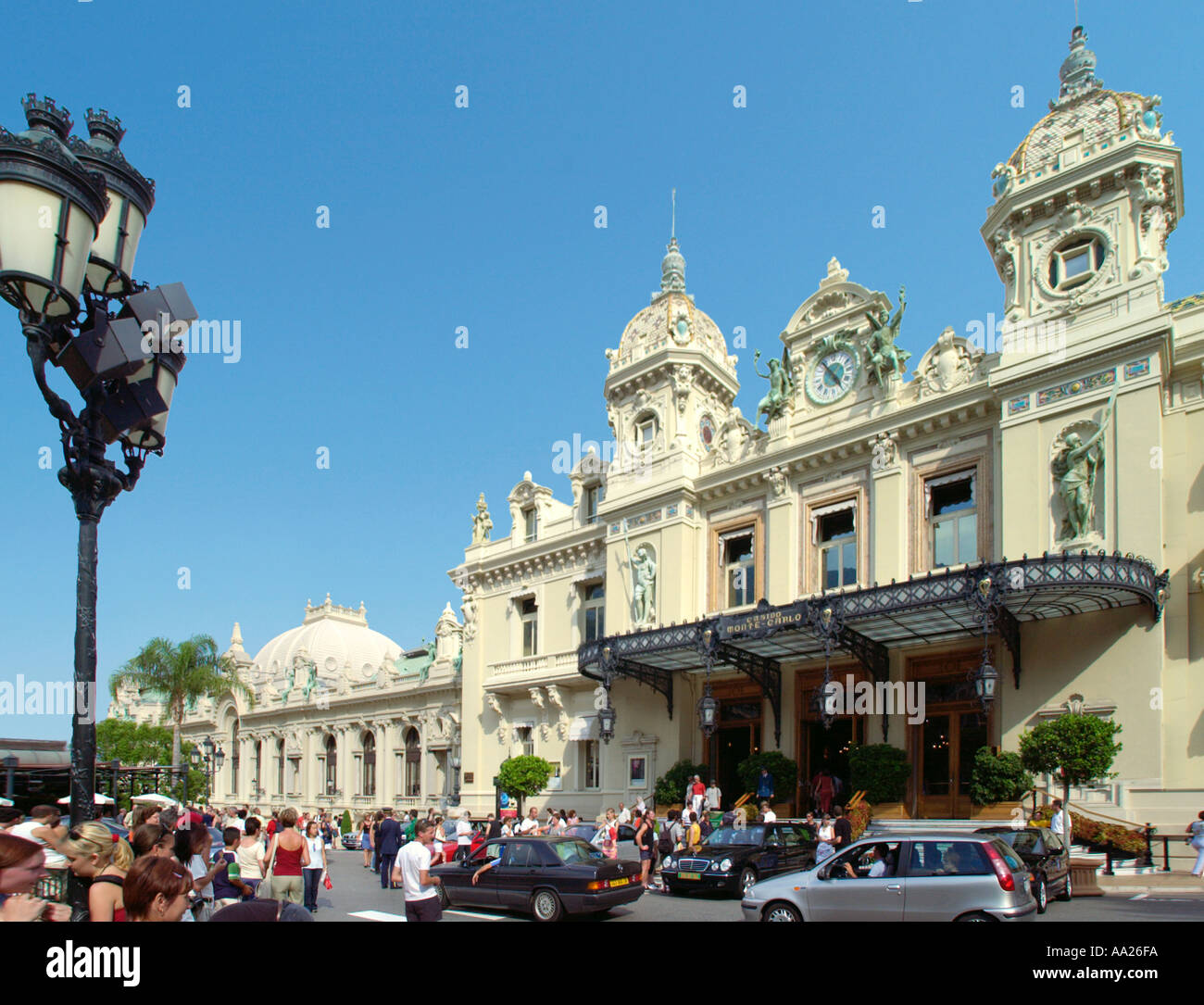 Grand Casino, Monte Carlo, Monaco - Stock Image
