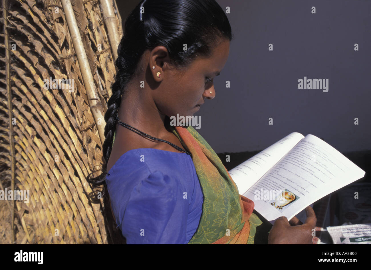 INDIA Project supported by Ford Foundation in India Stock Photo