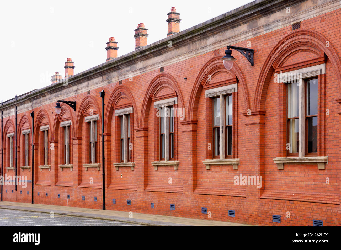 Port Sunlight Lever or Unilever soap factory near Liverpool England - Stock Image