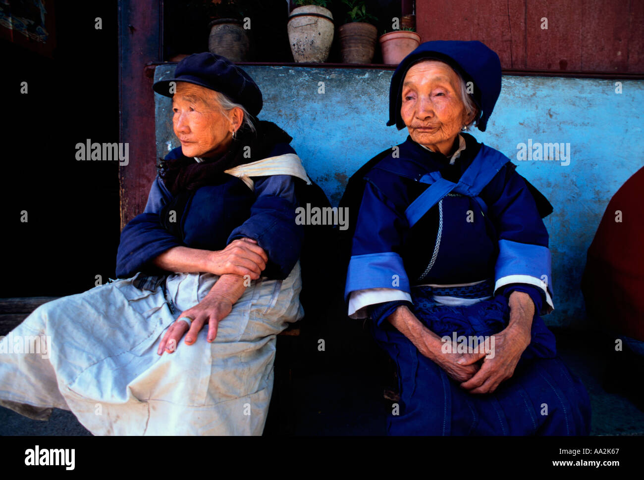 Ethnic mature women
