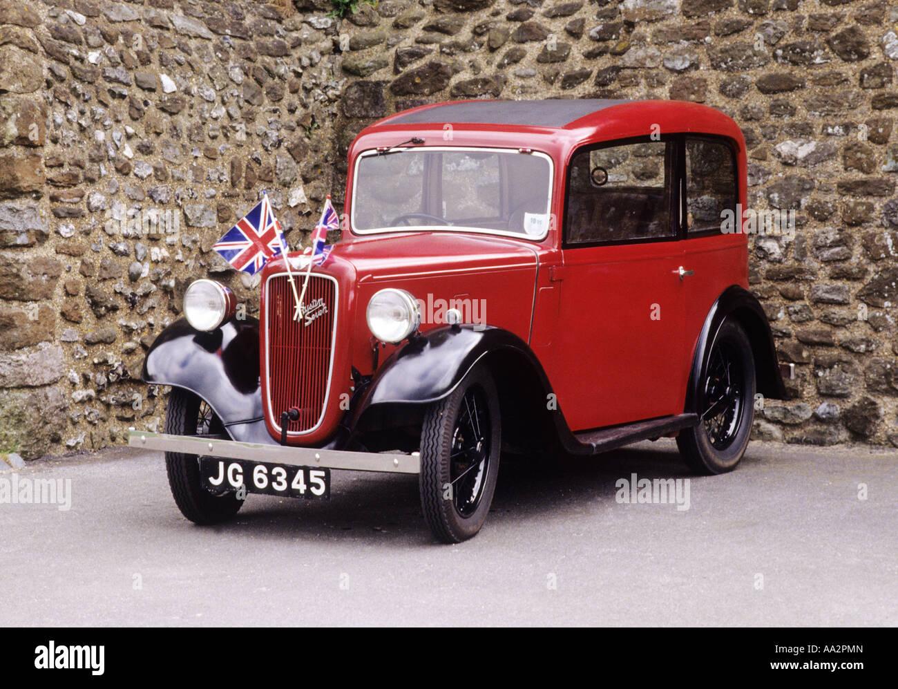 Austin Seven 7 classic motor car 1940s vintage transport cars motors ...