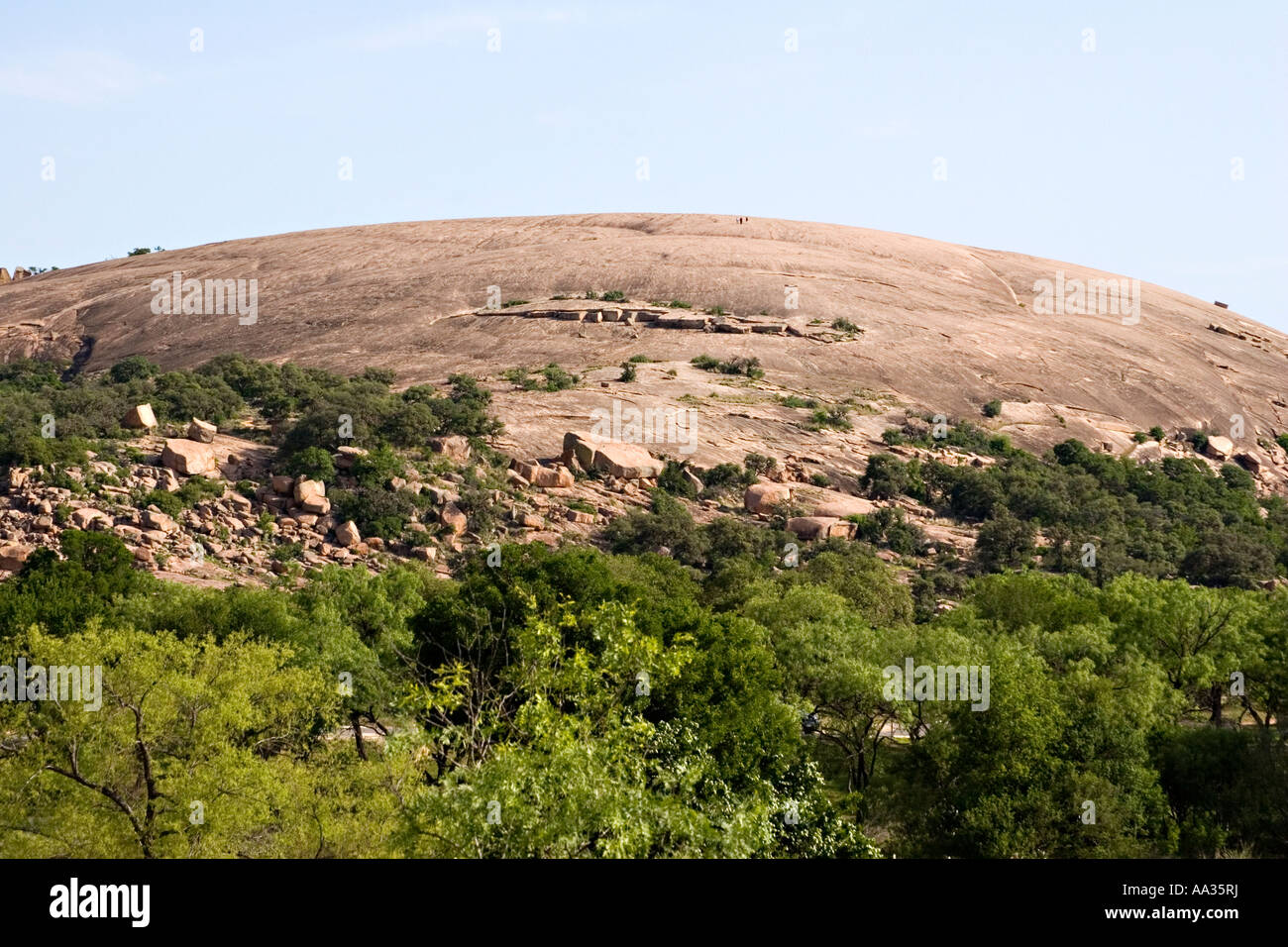 Enchanted Rock State Natural Area Texas Stock Photo