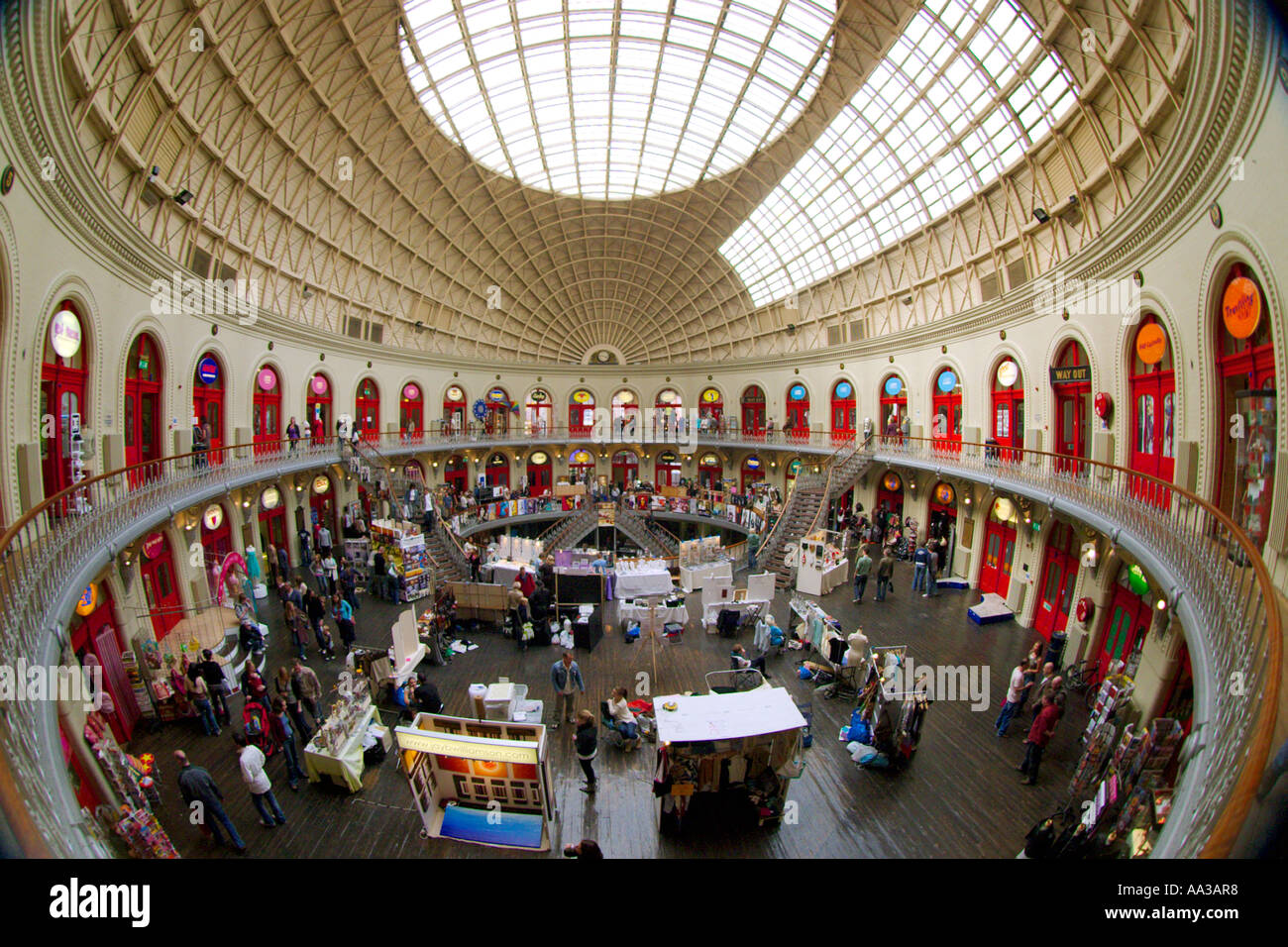 Leeds corn exchange shopping centre