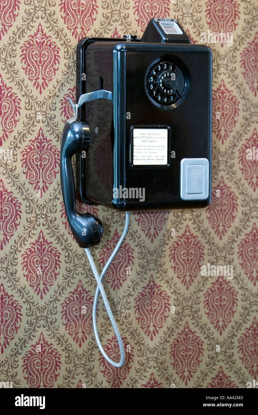Old payphone - Stock Image