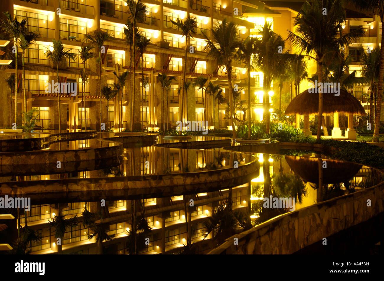 The Hilton Sanya Resort and Spa, Hainan, China. March 2006 - Stock Image
