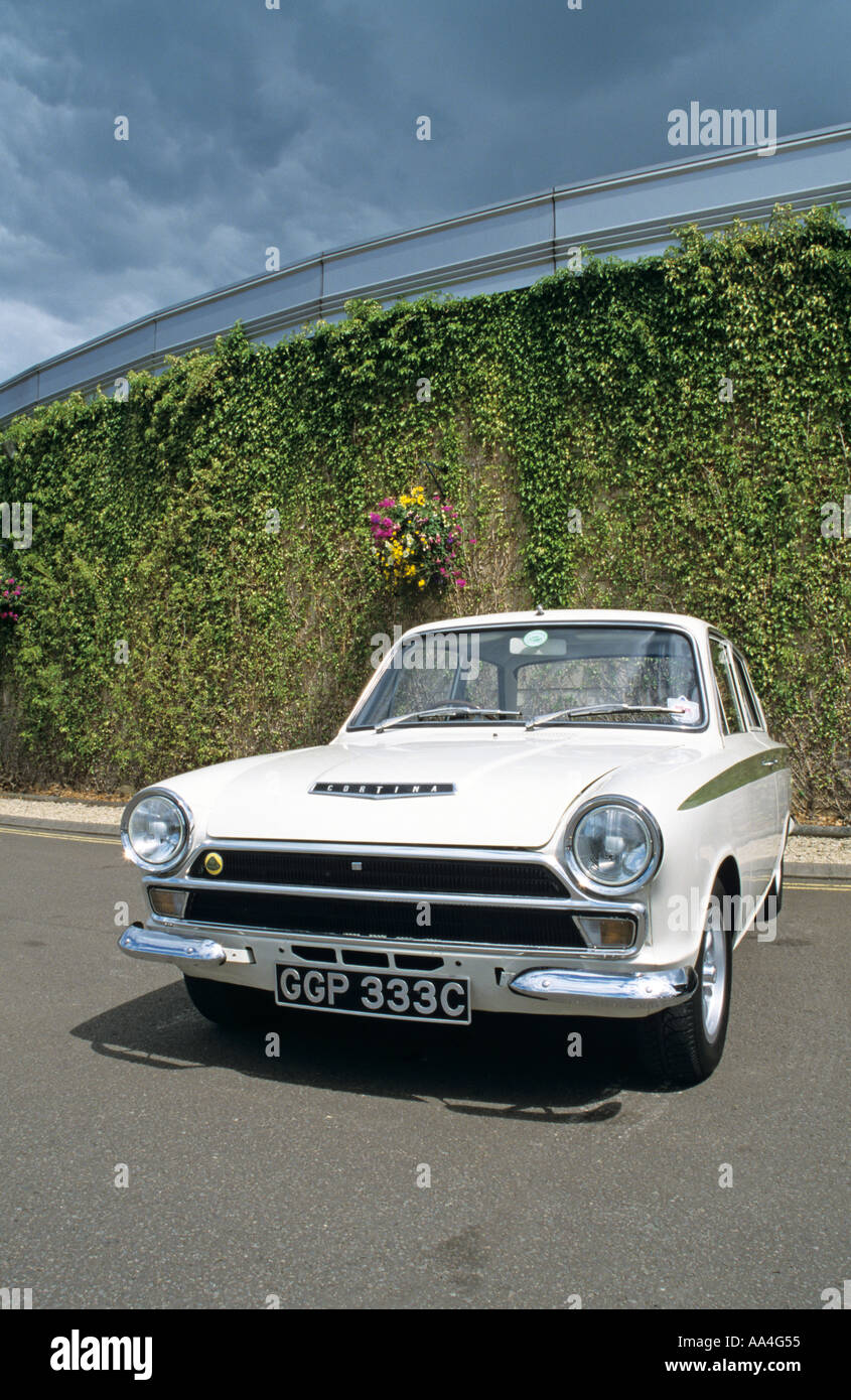 Ford Lotus Cortina MK1 of 1965 Stock Photo