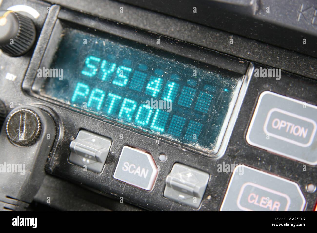 police car interior radio stock photos police car interior radio stock images alamy. Black Bedroom Furniture Sets. Home Design Ideas