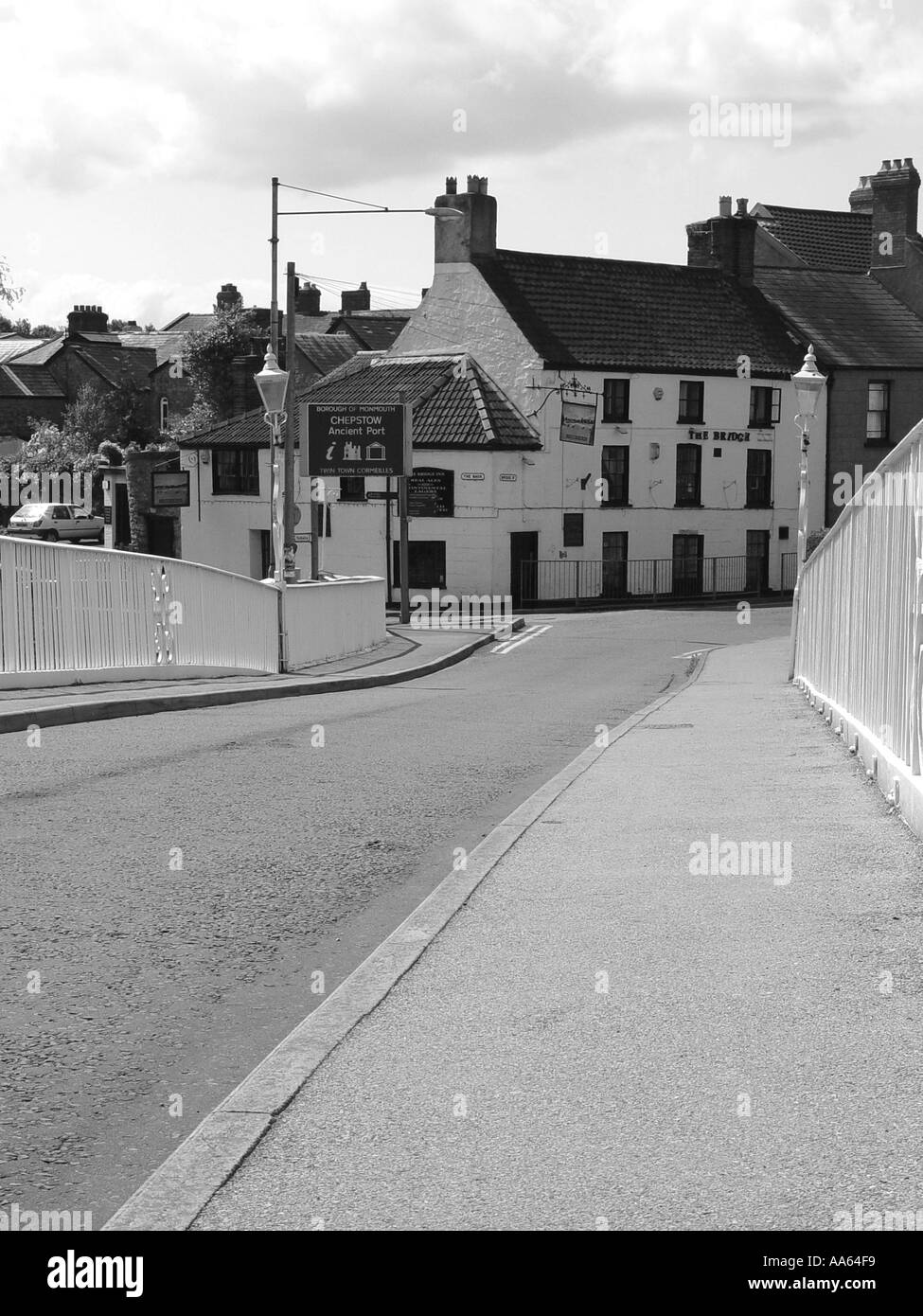 Chepstow South Wales GB UK 2003 - Stock Image