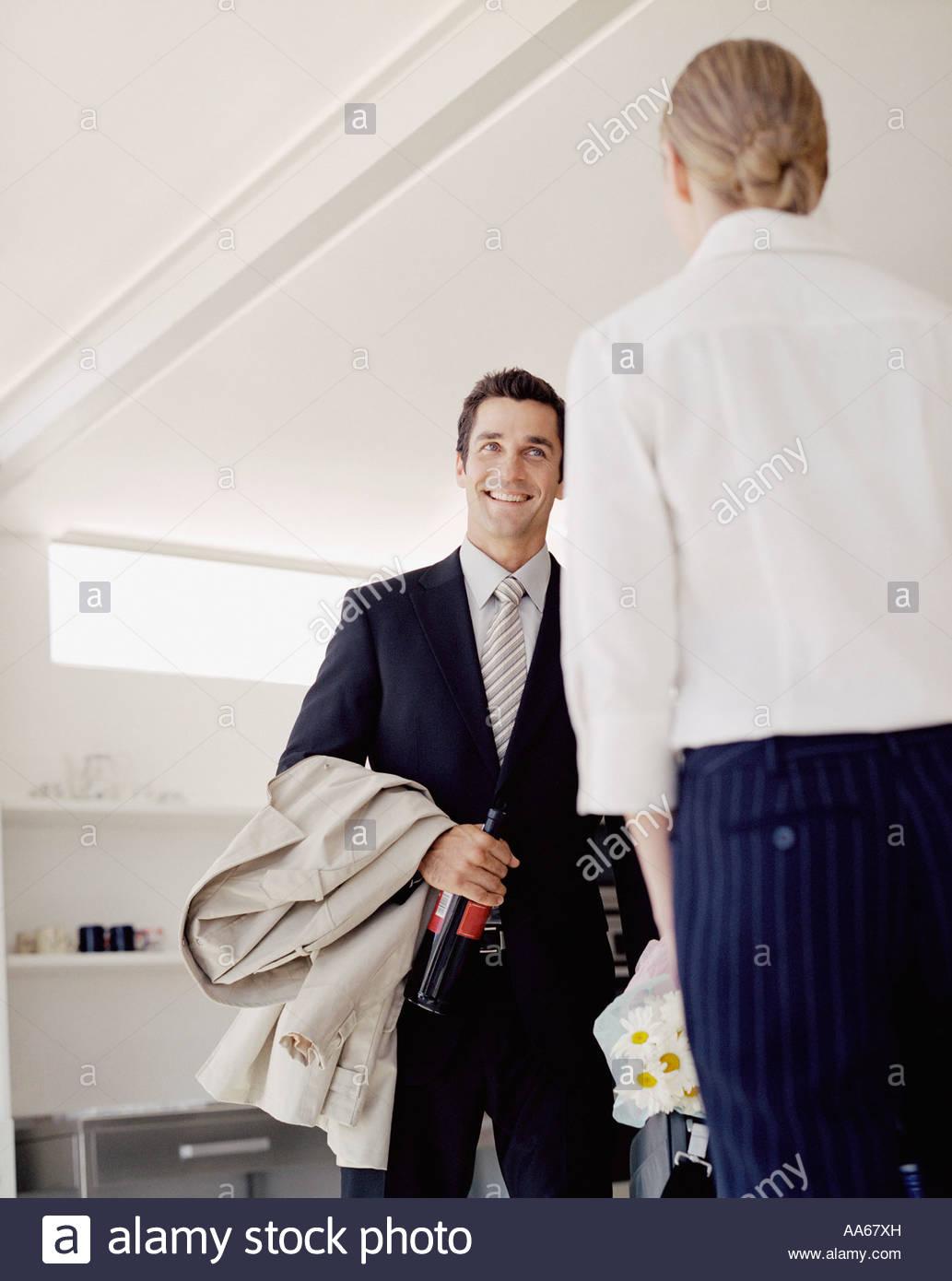 Dating a nervous man