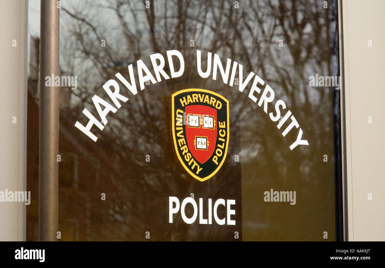 Harvard University Police - Stock Image