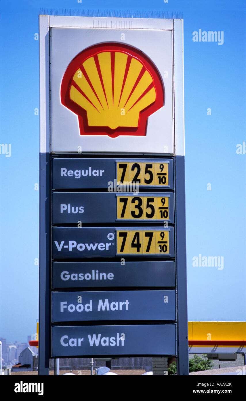 """Shell Gas Station Prices >> """"Shell """"gas station"""" sign, showing possible """"future price ..."""