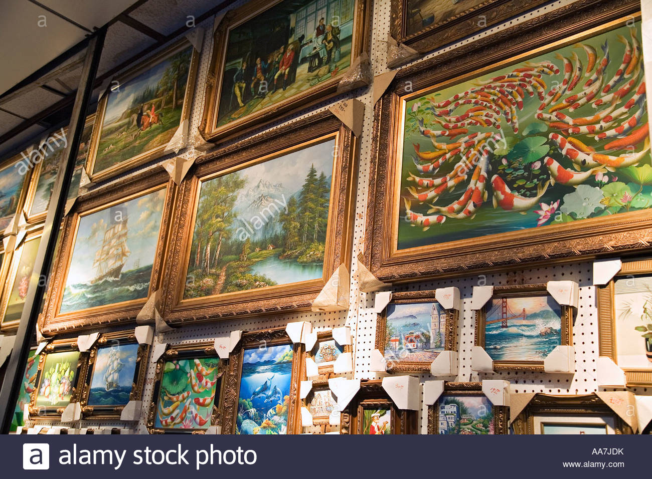 Framed Paintings Stock Photos & Framed Paintings Stock Images - Alamy