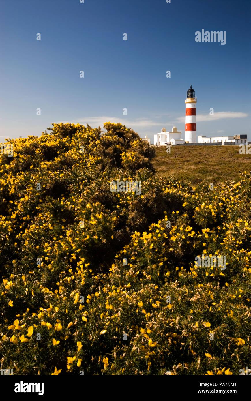 Point Of Ayre Lighthouse Isle Of Man - Stock Image