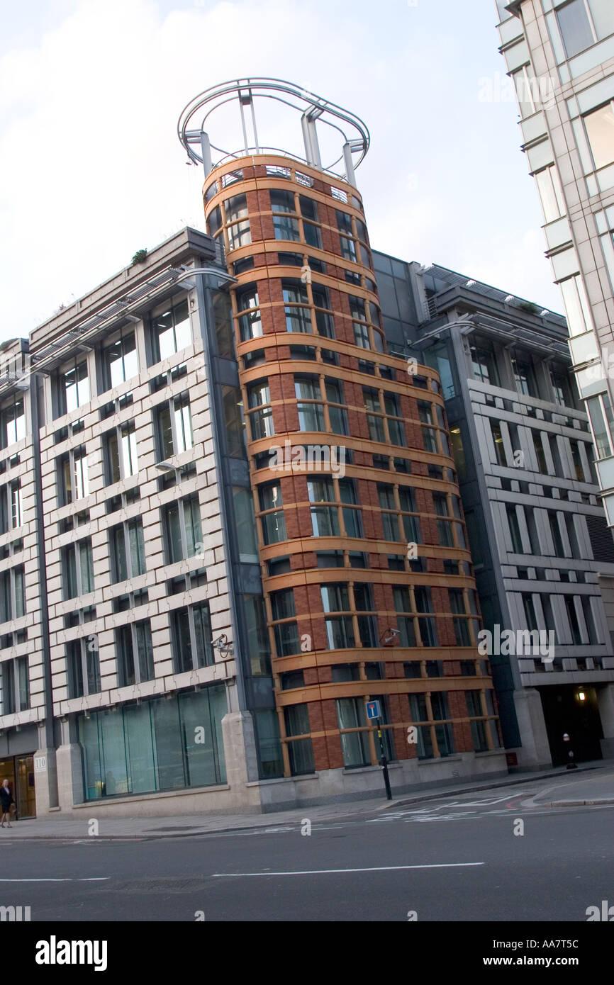 Modern building New Bridge Street City of London GB UK - Stock Image