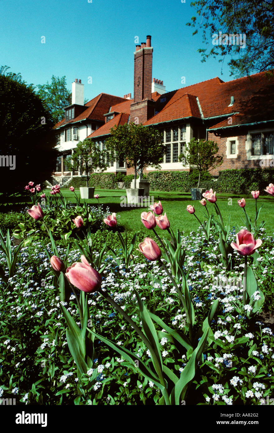 Cranbrook House and Gardens in suburban Detroit s Bloomfield Hills ...
