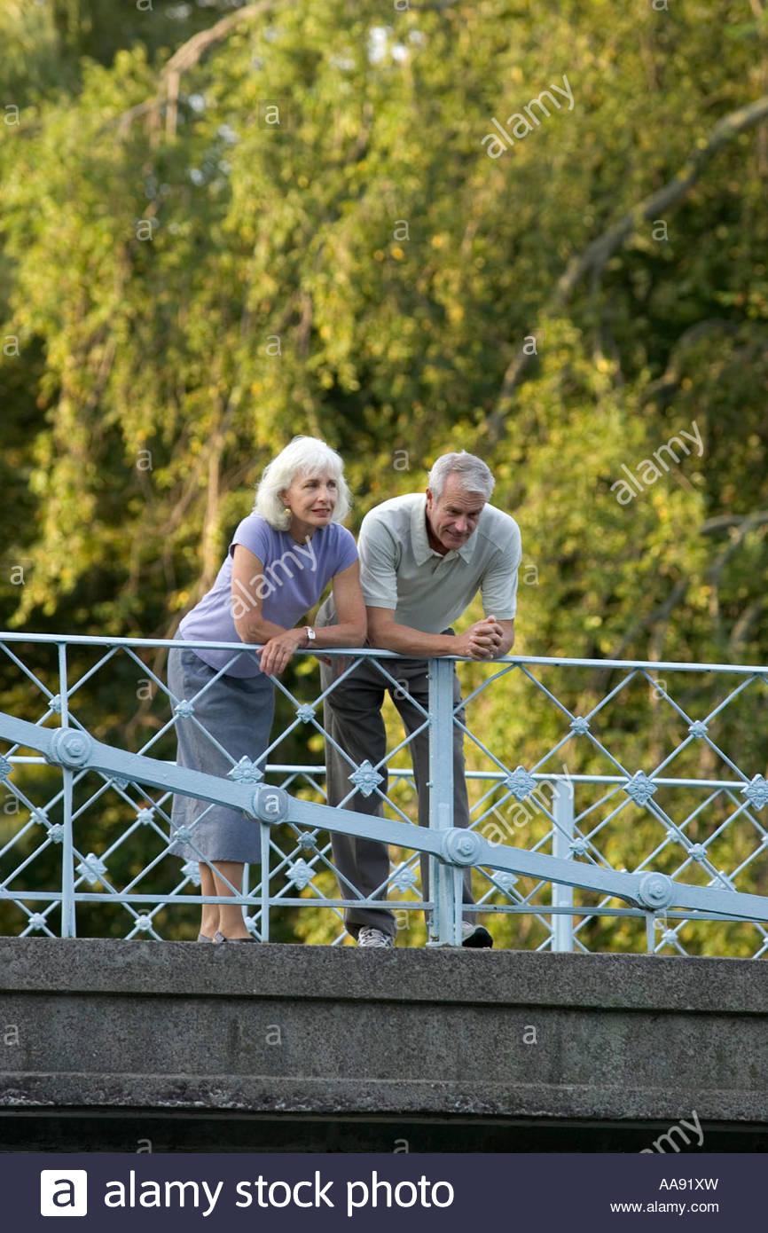 Older women bending over