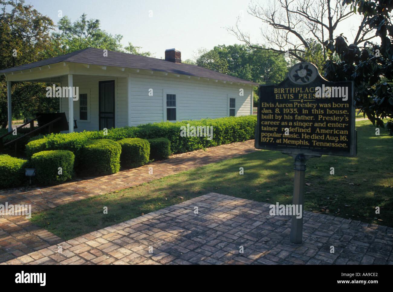 AJ11322, Tupelo, MS, Mississippi - Stock Image
