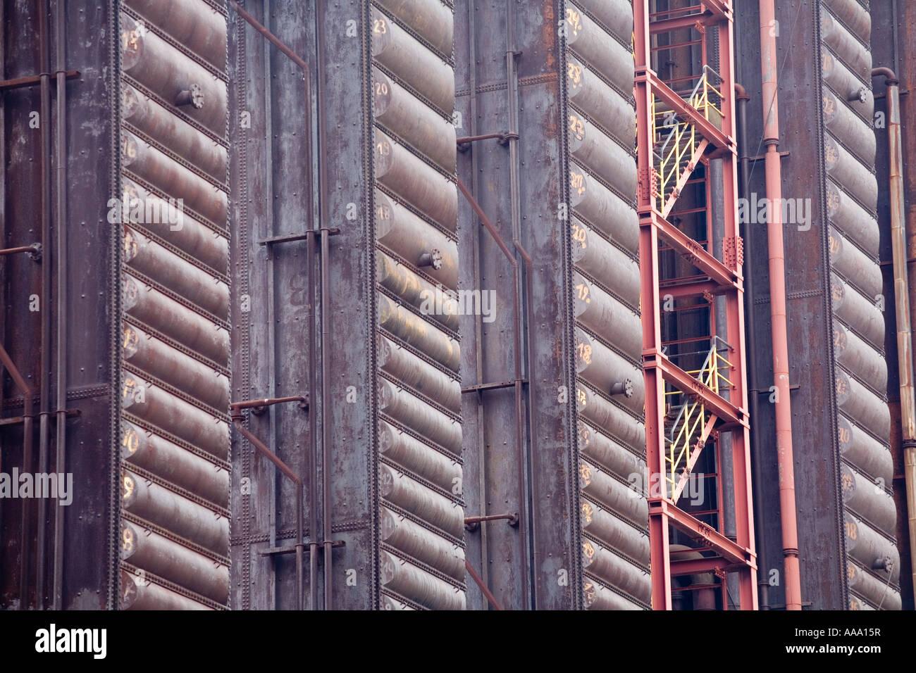 Coking plant Zollverein Essen Kokerei - Stock Image